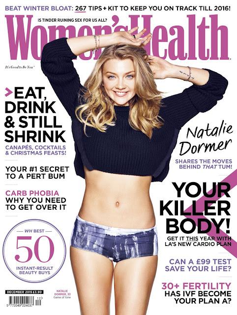 Actress @ Natalie Dormer - Women's Health, December 2015