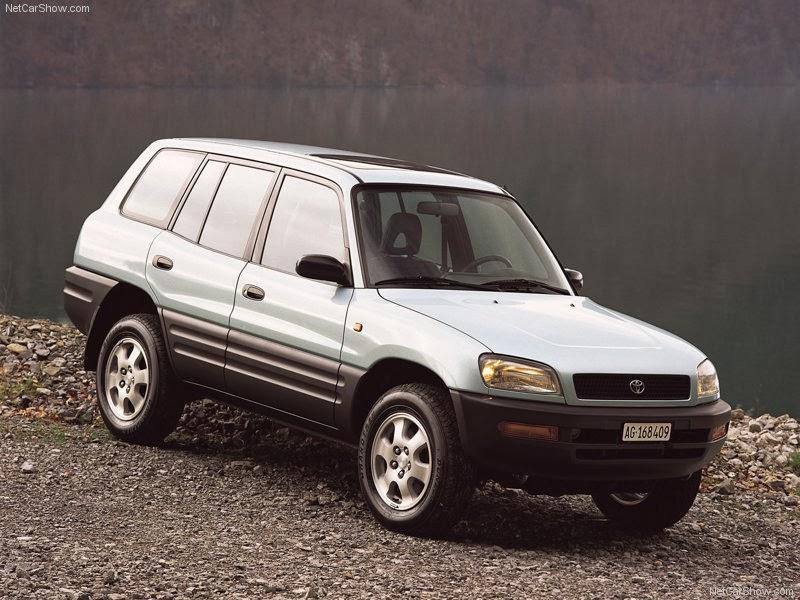 صور سيارة تويوتا راف 1996