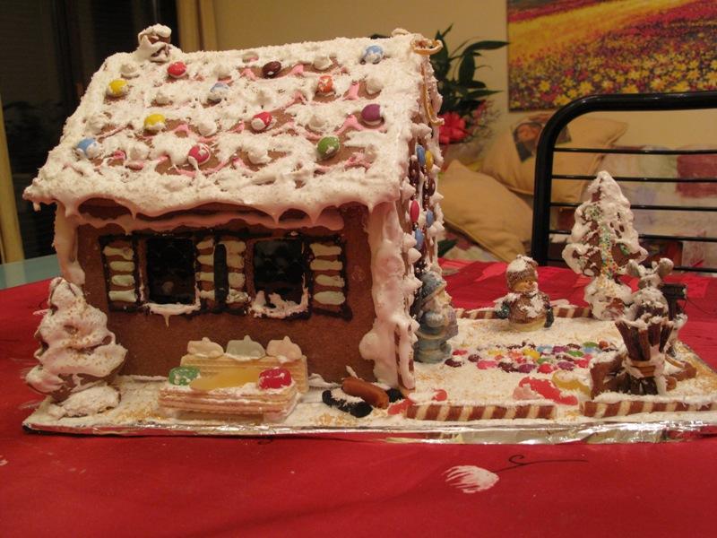 Casetta Di Natale Da Colorare : I sospiri di una farfalla come fare una casa di natale dolcissima