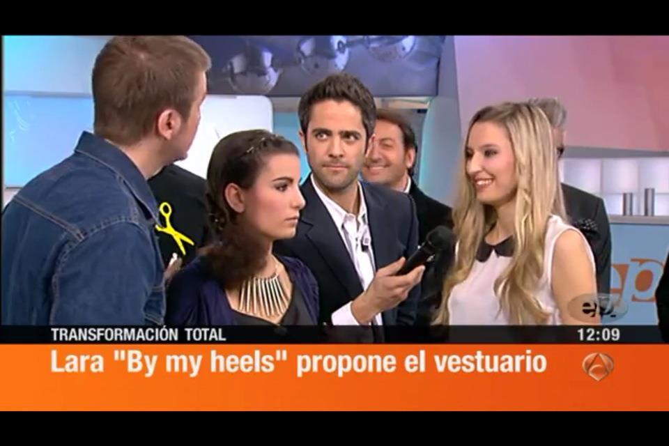 Bymyheels en el programa espejo p blico de antena 3 for Antena 3 espejo publico programa hoy