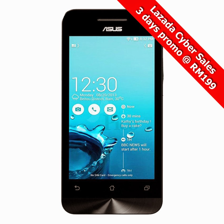 Asus Zenfone4 3 Days Promotion Only RM199