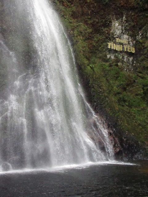 Sa Pa cascade of love waterfall