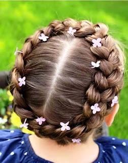 Rambut Kepang Untuk Anak Perempuan