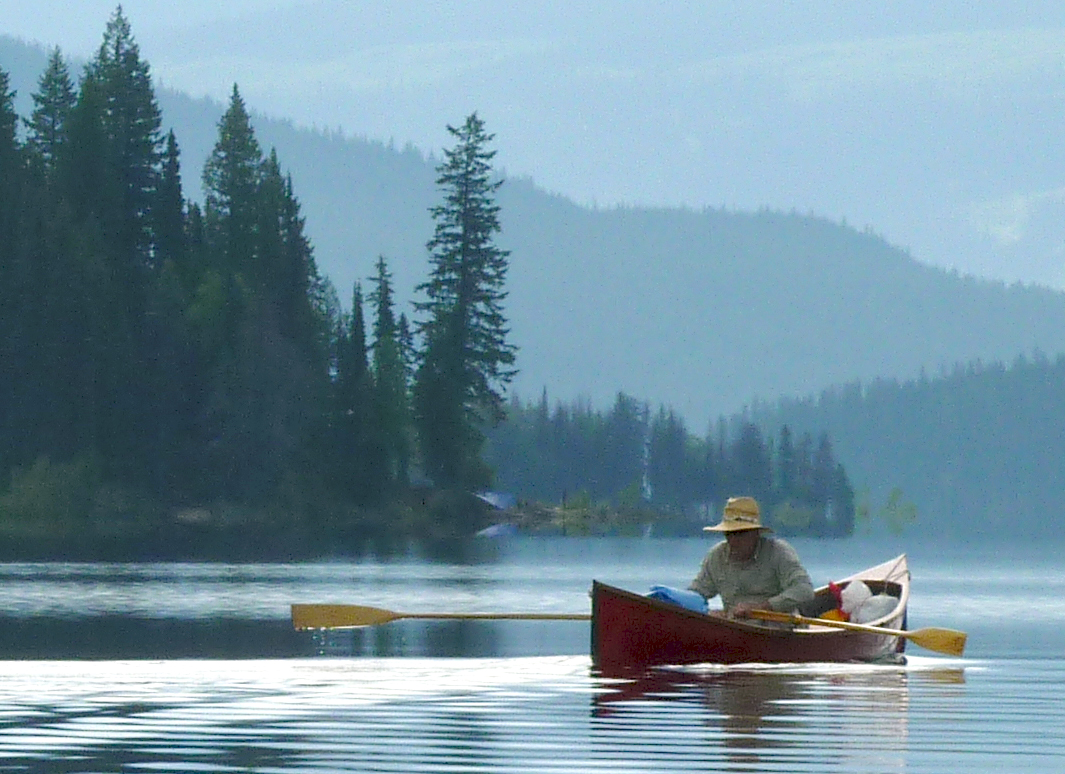 Rowing For Pleasure Rowing A Guideboat In Canada