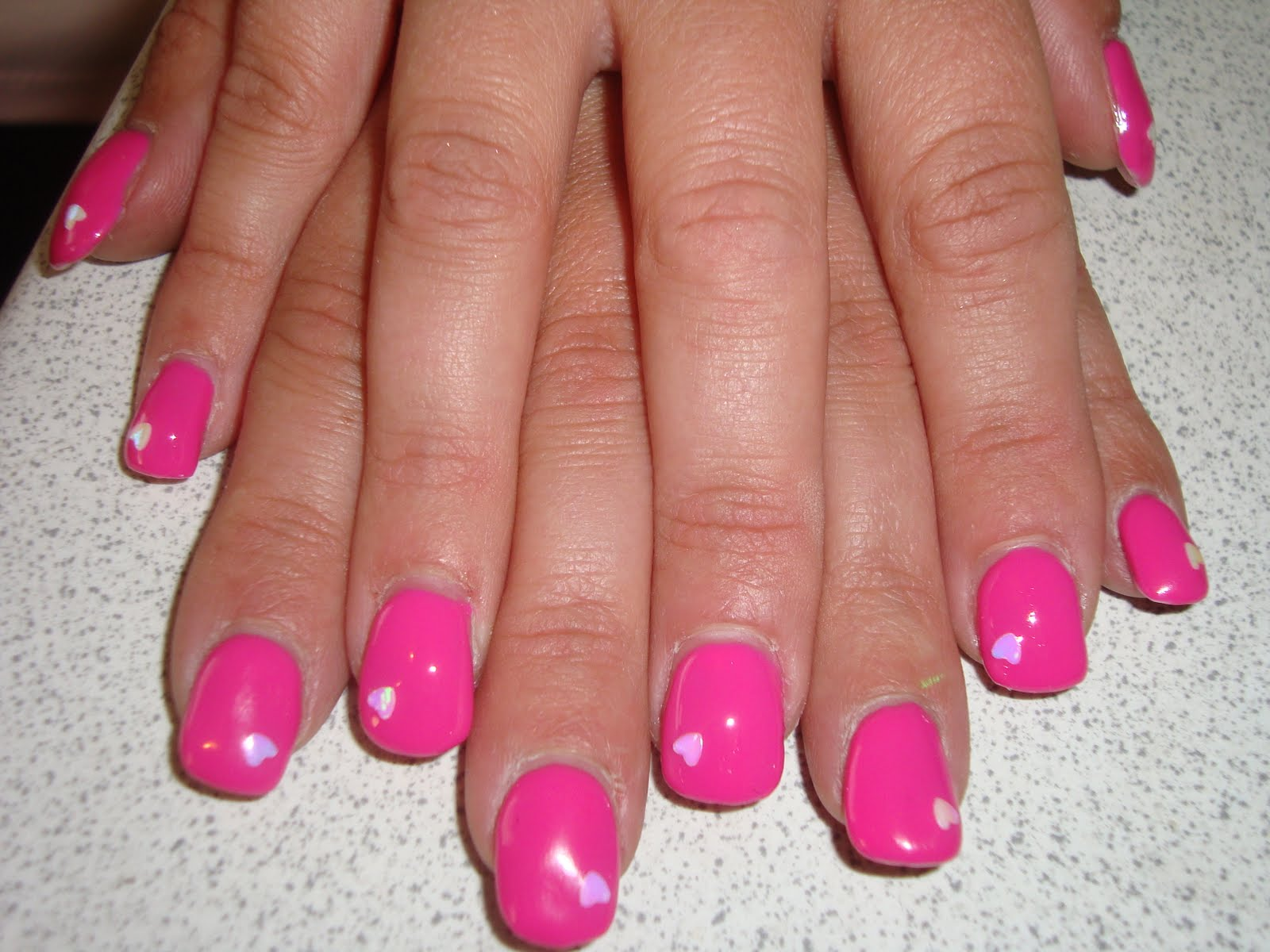 Hayley Emma Simpson: Bio Sculpture Gel Nails with Nail Art