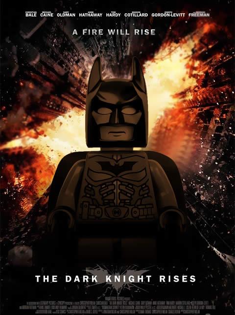 Batman Ressurge Lego Poster