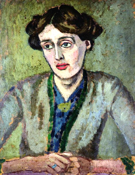 Portrait de Virginia Woolf par Roger Fry, 1917