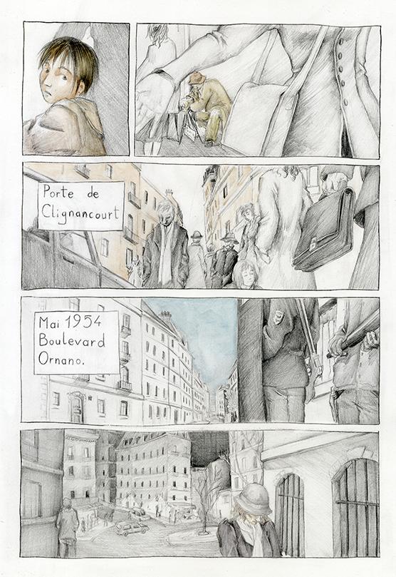 BD Dora Bruder par Astate, page 3