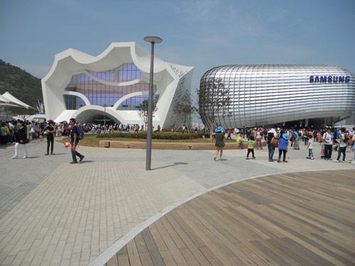 Samsung Pavilion, Expo 2012, Yeosu