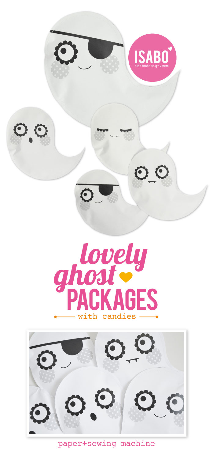 ISABO Halloween Ghost Package