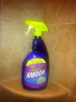 Kaboom shower cleaner
