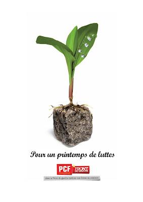 1er mai 2011 : Solidarité internationale et progrès social - Manifestation à Maubeuge dans Austerite muguet