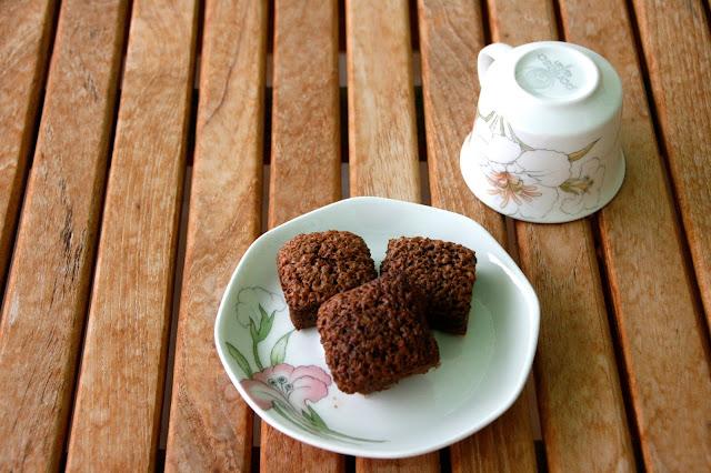 Receta de brownie de caramelo
