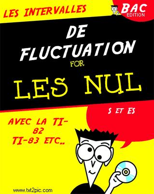 intervalle de fluctuation calculatrice ti 83