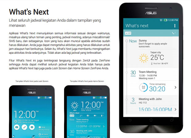 ASUS ZenFone Smartphone Android Terbaik Whats Next