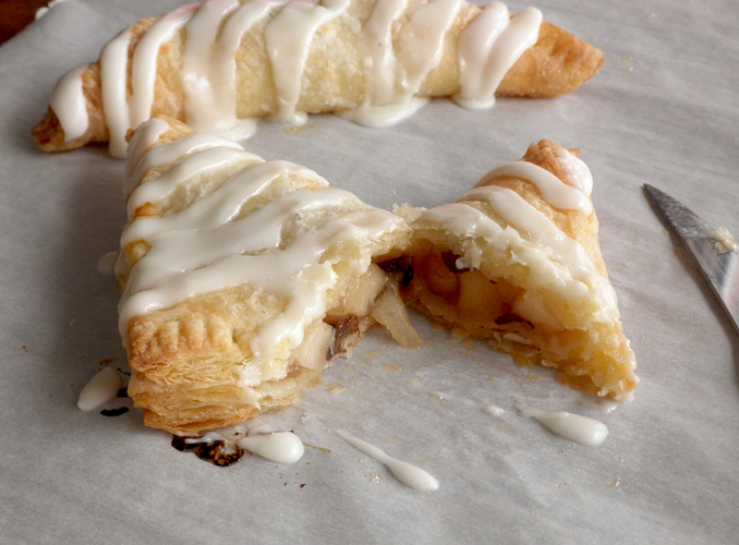 Food Pusher: Flaky Apple Turnovers