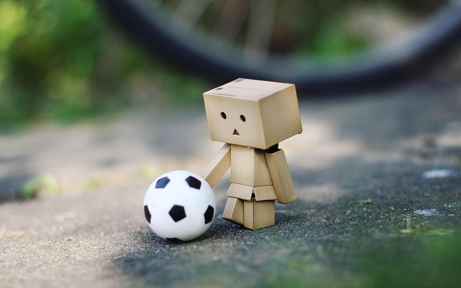 Danbo soccer free playing