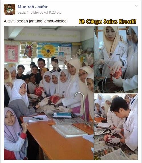 Cikgu Sains Kreatif Cikgu Munirah Jaafar