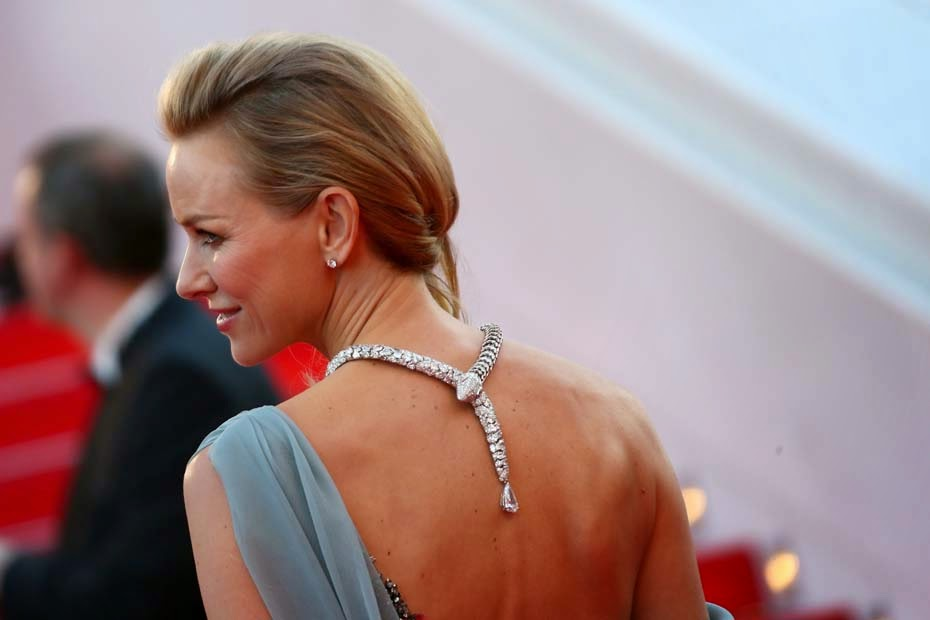 Bulgari, Cannes 2014, diamonds, Naomi Watts