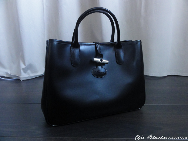 Longchamp Laukun Pesu : Chic blush black longchamp roseau