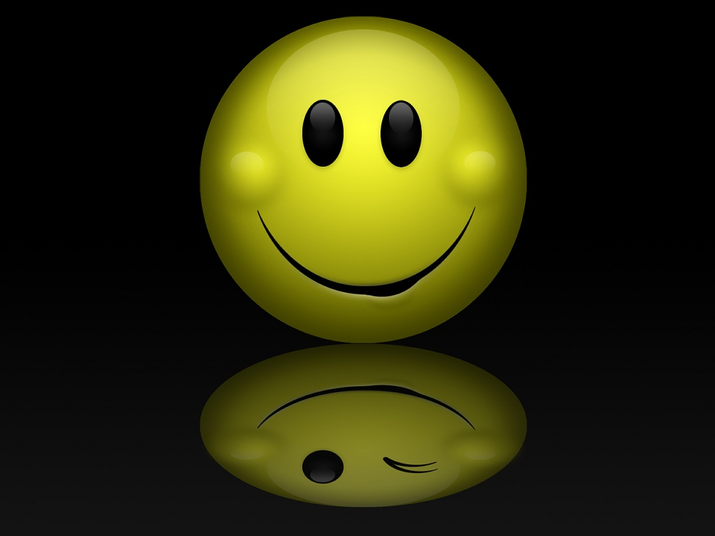 WallpaperfreekS: Smile (Emoticons) Wallpapers 1024X768