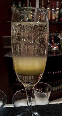 Cocktails, champagne, lemonade
