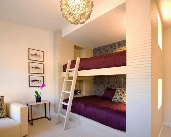 decoracao alternativa de quartos:alternativa para quando se tem mais de uma menina no mesmo quarto.