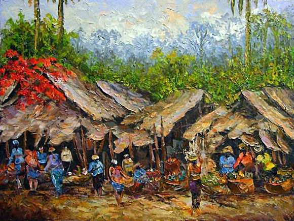 Aliran Senirupa di Indonesia