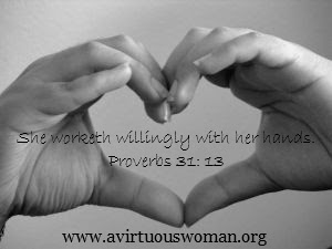 Striving to be a proverbs 31 women
