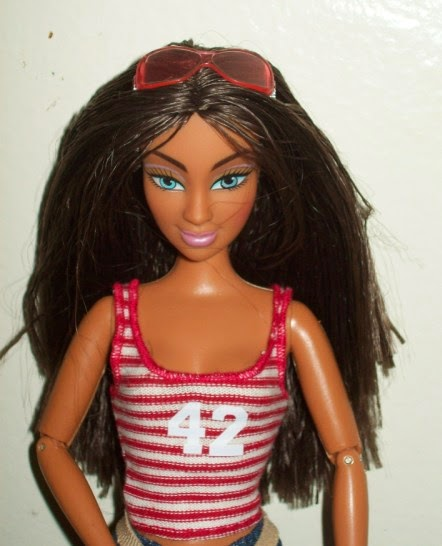 Mattel Flavas Party Tika doll head lowered