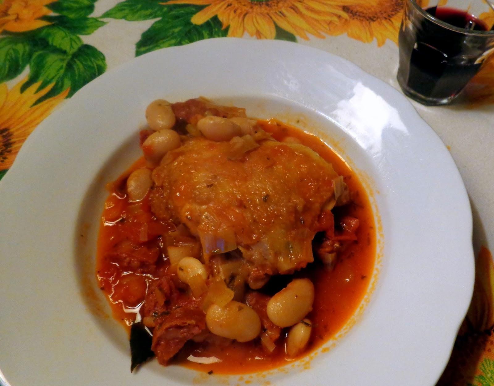 Wat Ik Gegeten Heb Spaanse Kip Met Bonen Chorizo En Tomaten