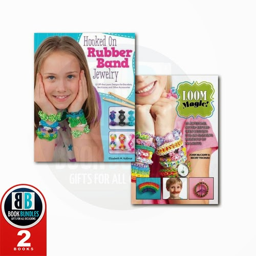 Loom Band Crafts 2 Books Collection Set