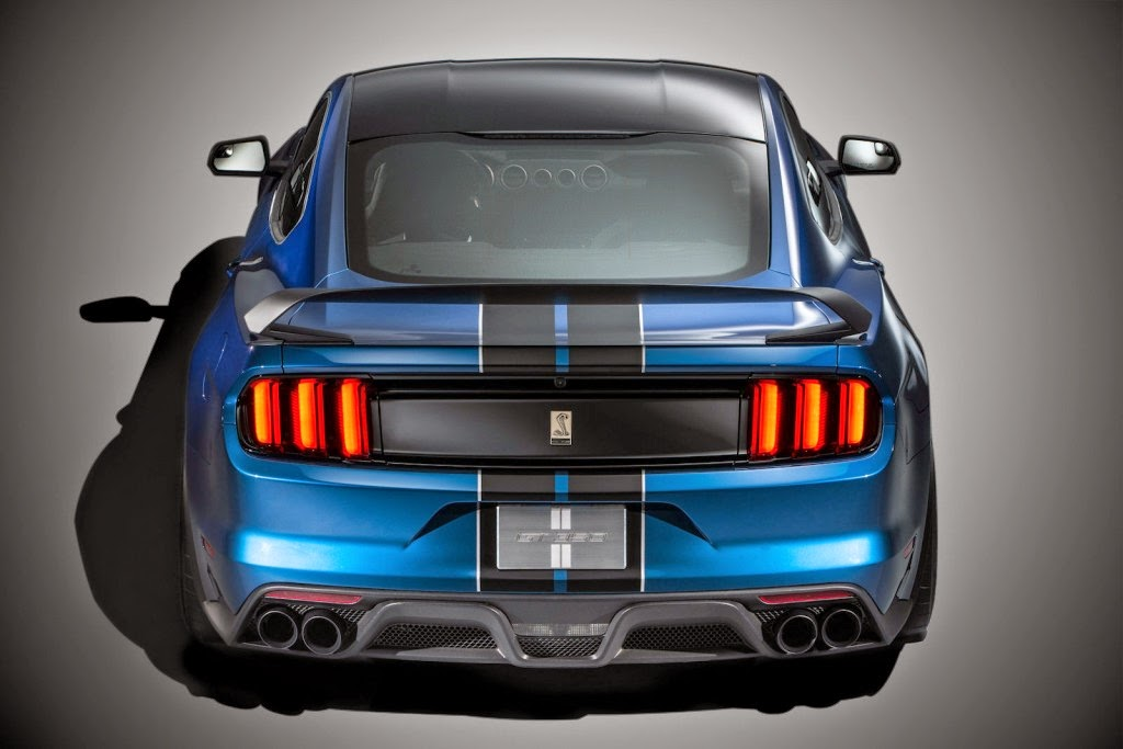 2016 Ford Mustang Shelby GT350R Rear