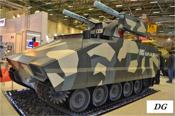 Menanti Prototype Tank Buatan Pindad dan Turki ACV-300 Turki