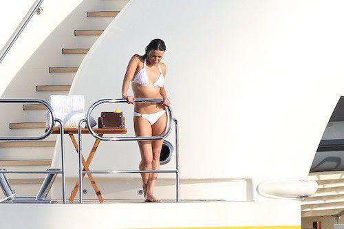 Michelle Rodriguez bikini in Saint-Tropez