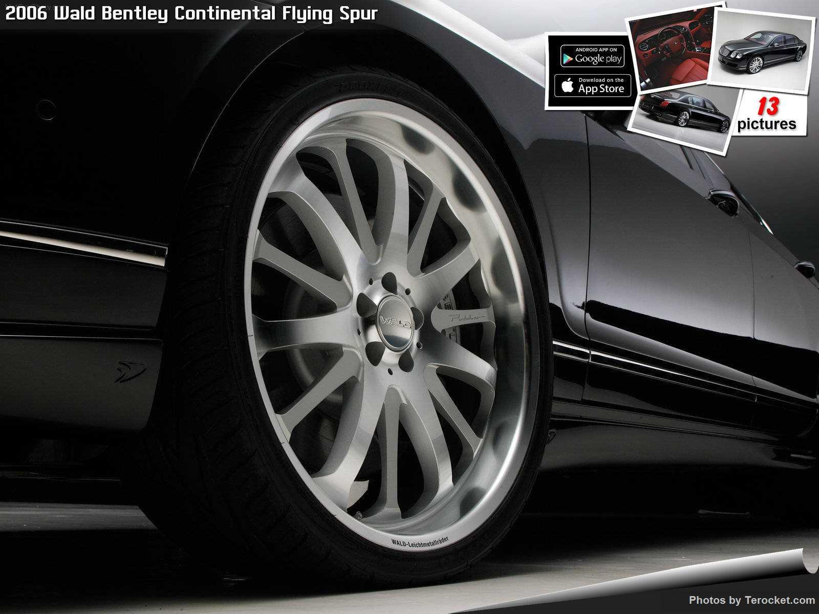 Hình ảnh xe độ Wald Bentley Continental Flying Spur 2006 & nội ngoại thất