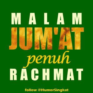 Malam+Jumat+Penuh+Rachmat Gambar DP BBM Islami Terbaru