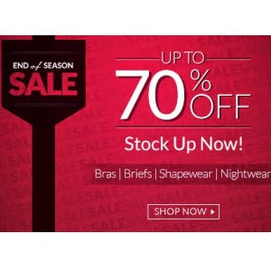 Zivame : Women Clothing & Innerwears 30% to 70% off from Rs. 68