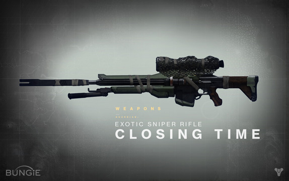 closing time rifle destiny