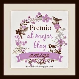 PREMIO OTORAGADO POR LOS BLOGGERS
