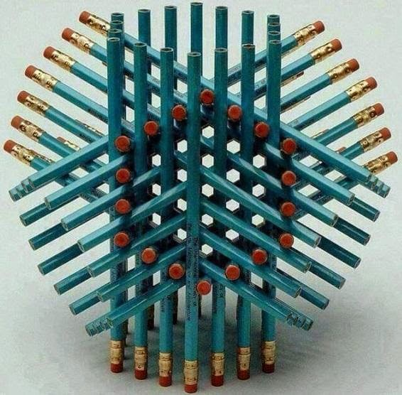 How many pencils in the image ?