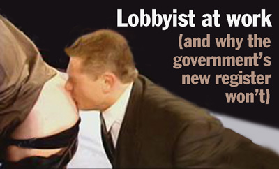 Government and lobbyists