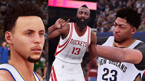 NBA 2K16 First Screenshots Released