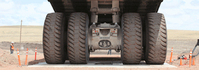 heavy-duty truck weighing system