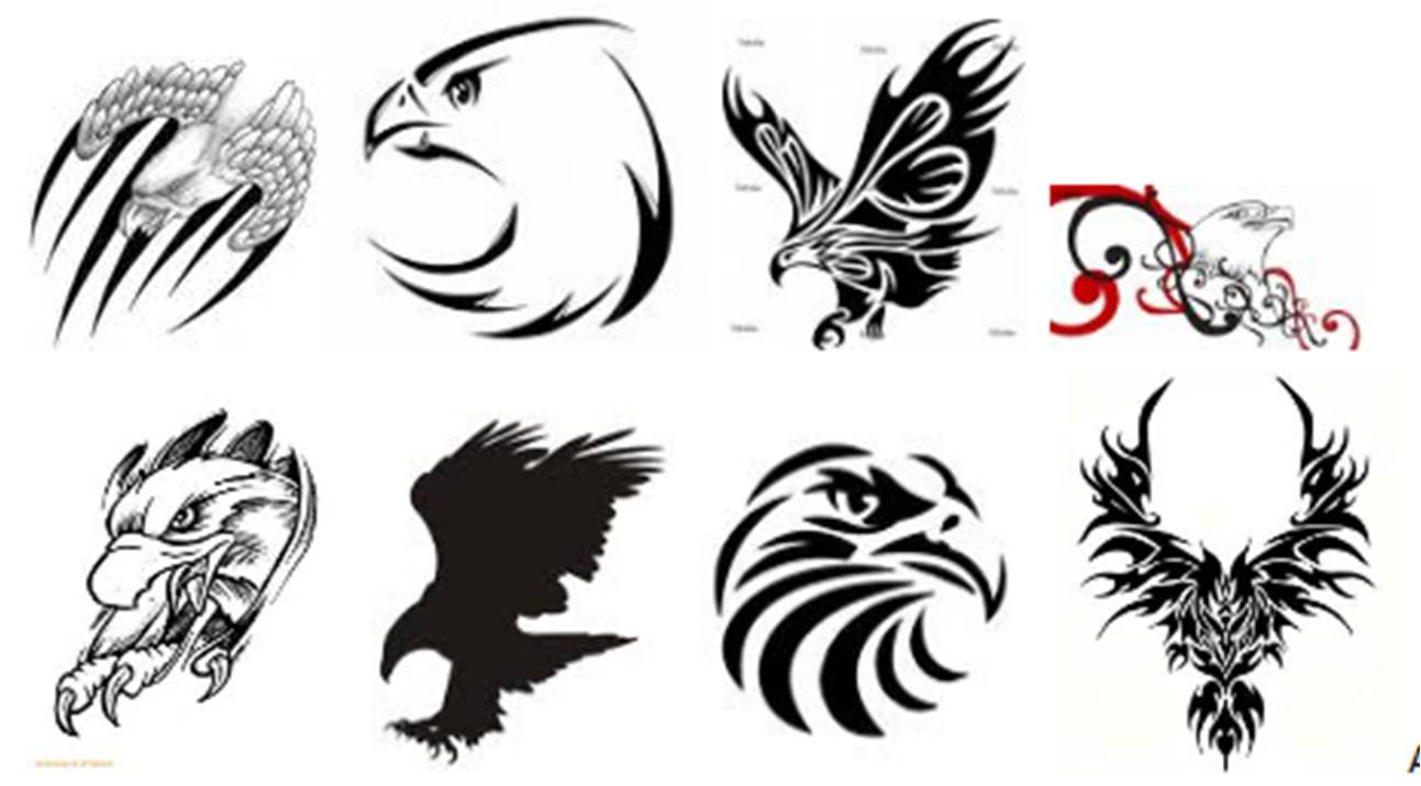 eagle tattoo designs fullbody tattoos. Black Bedroom Furniture Sets. Home Design Ideas