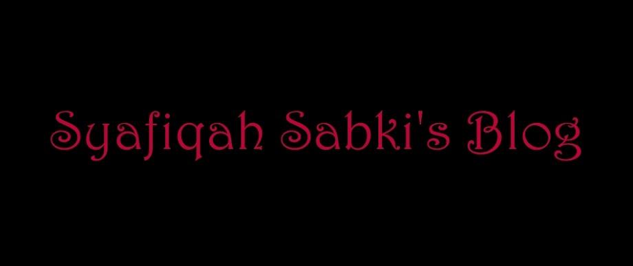 Syafiqah Sabki