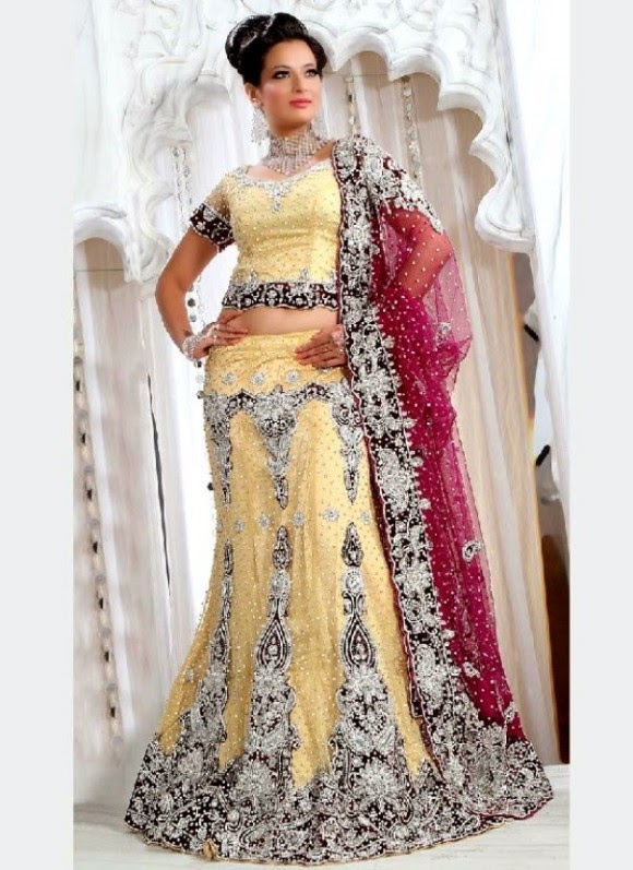latest bridal sharara dresses designs collection wedding brides