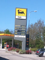 Prezzi carburanti praticati a Brusata (CH) il 21/4/2012