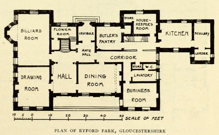 The devoted classicist july 2014 Manor house floor plan