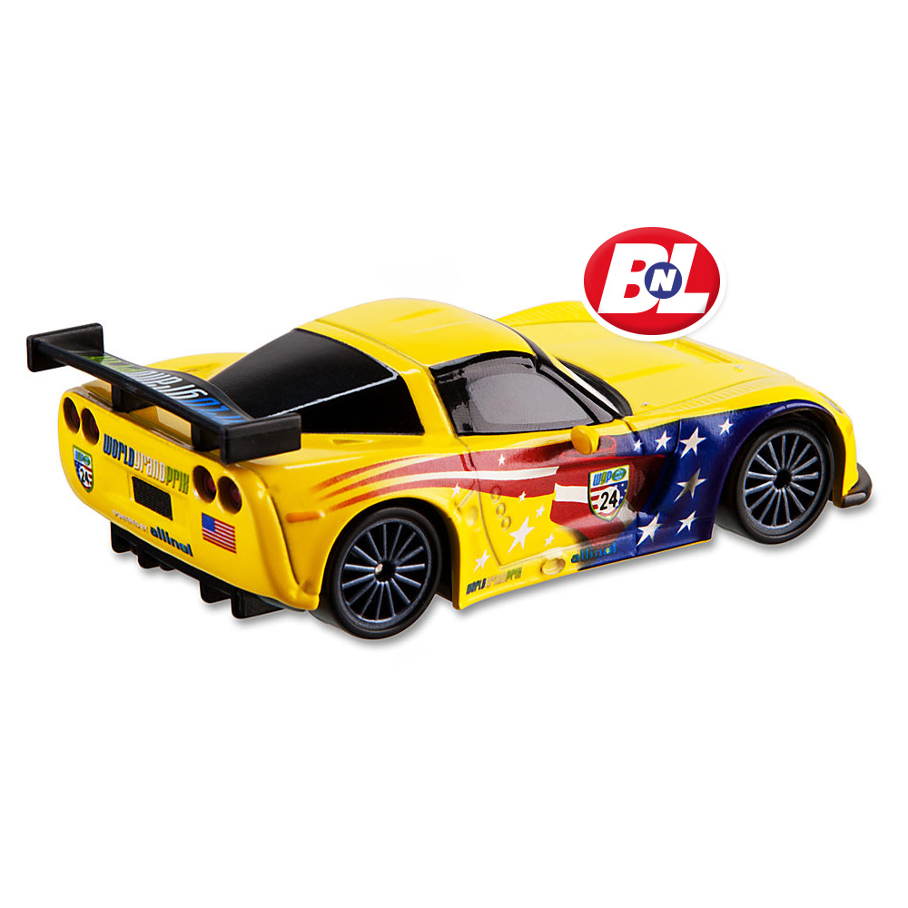 Cars 2 jeff gorvette die cast car